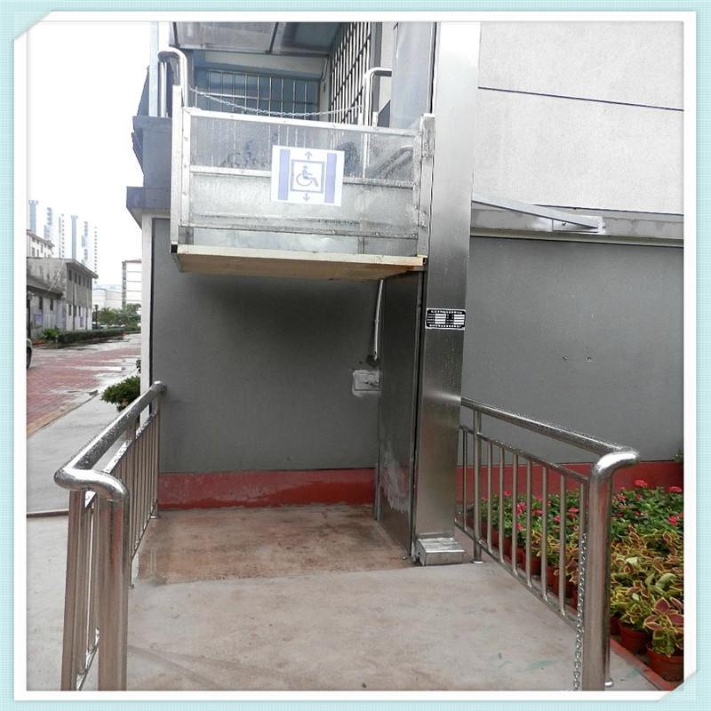 家用小型升降梯许昌2层3层5层家用升降机 液压升降机图片