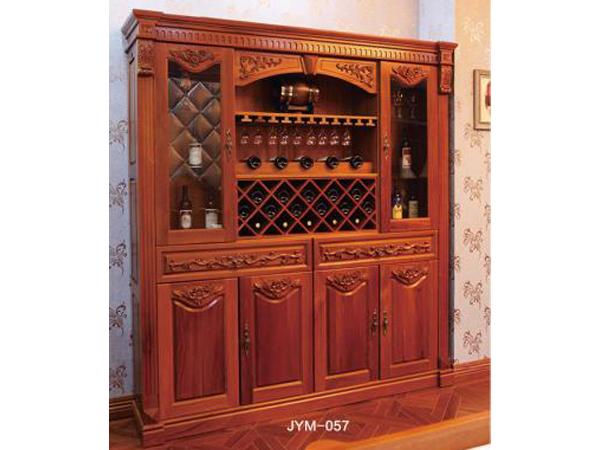 原木酒柜上哪买好,欧式酒柜 酒柜定制 原木家具定制