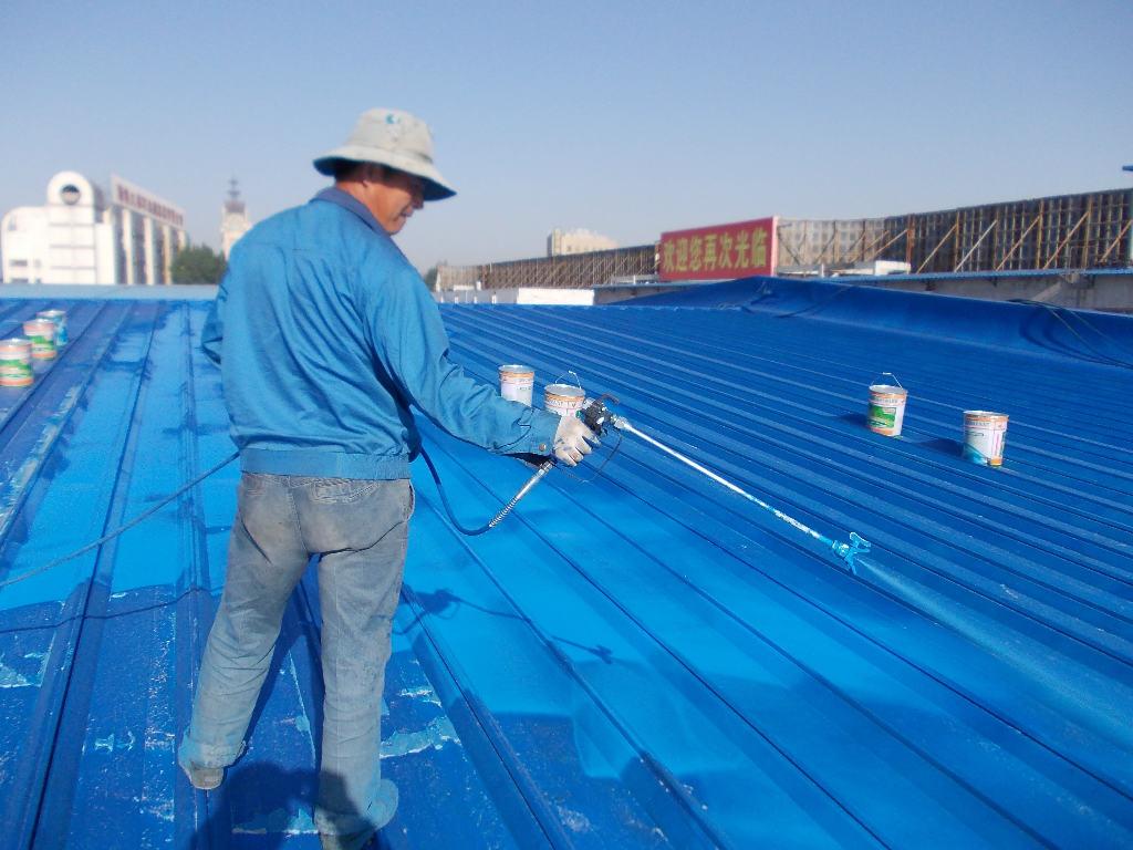 西安钢结构防腐公司欢迎光临# 龙门吊防腐 网架刷油漆防腐 码头吊机