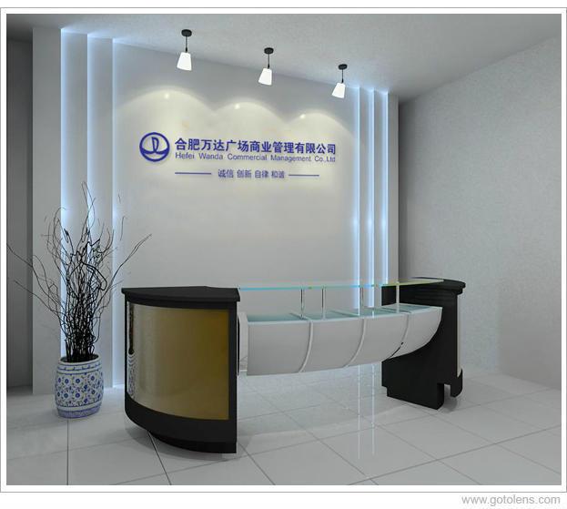 企业前门logo墙精美logo墙形象墙设计制公司