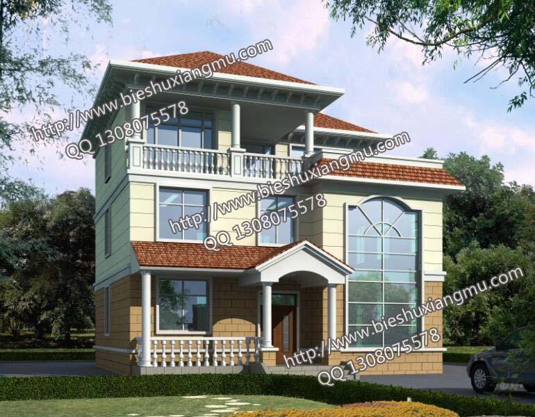 求10米成12米的三层别墅设计图纸 带效果图谢谢 心理观察网