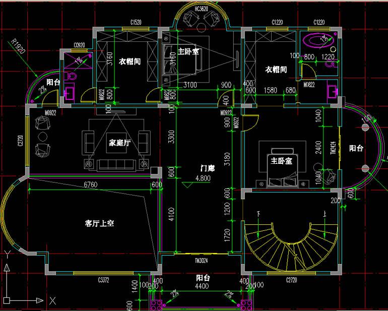 新农村房子设计图 独栋四层别墅图纸设计 别墅设计 建房图纸 建筑施工图片