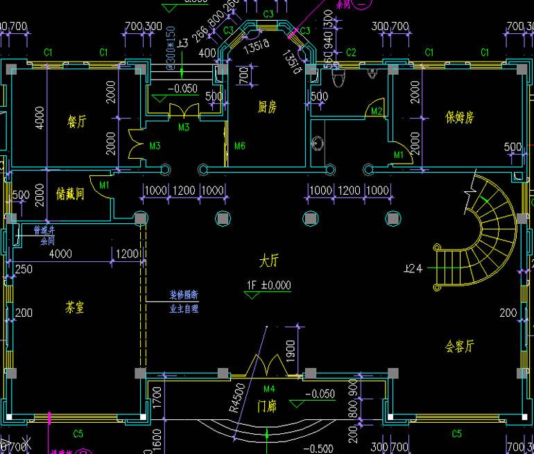 農村四層房屋設計圖 農村自建房圖紙設計