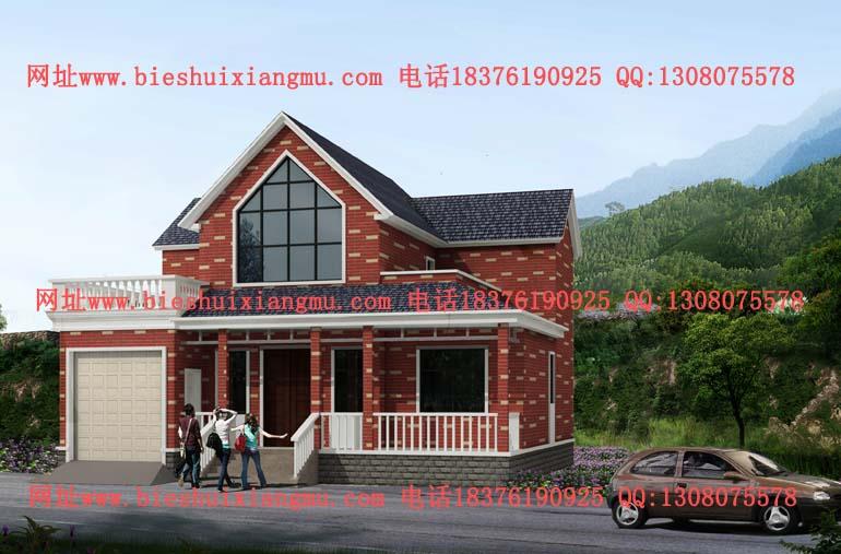 农村12x12米二层简单别墅设计图_南宁市冠宇豪庭建筑