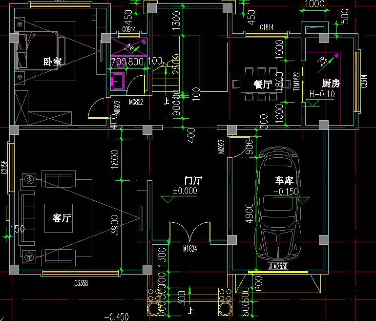 本套图纸有62张施工图和3张效果图,包打印(效果图为彩图,施工图为A3大图),快递包邮,无电子版。 图纸属性 层数:三层 结构形式:框架结构 主体造价:35-40万 左右开间15米, 前后进深11.6米 ,占地面积:160.25平方米 总建筑面积:420.56平方米(其中一层面积160.25平方米,二层面积113.