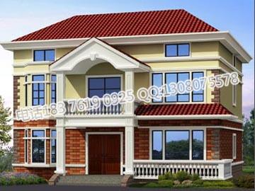 新农村三层别墅房屋设计