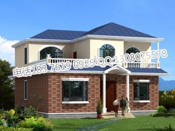 新农村住宅图纸设计,新农村两层房子设计图 (360x270)-新农村房