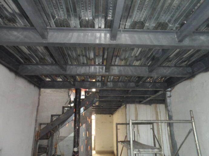 北京怀柔区钢结构阁楼搭建【钢结构楼梯制作】