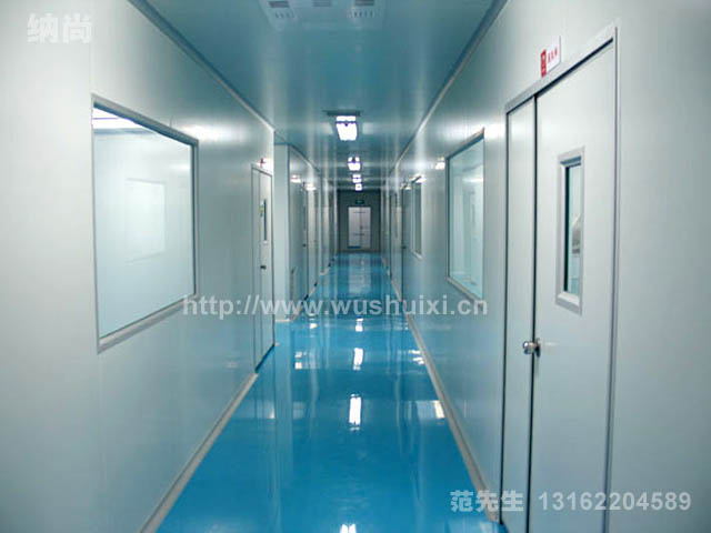 上海宝山化妆品厂装修 厂房装修设计 无尘车间装修公司--纳尚