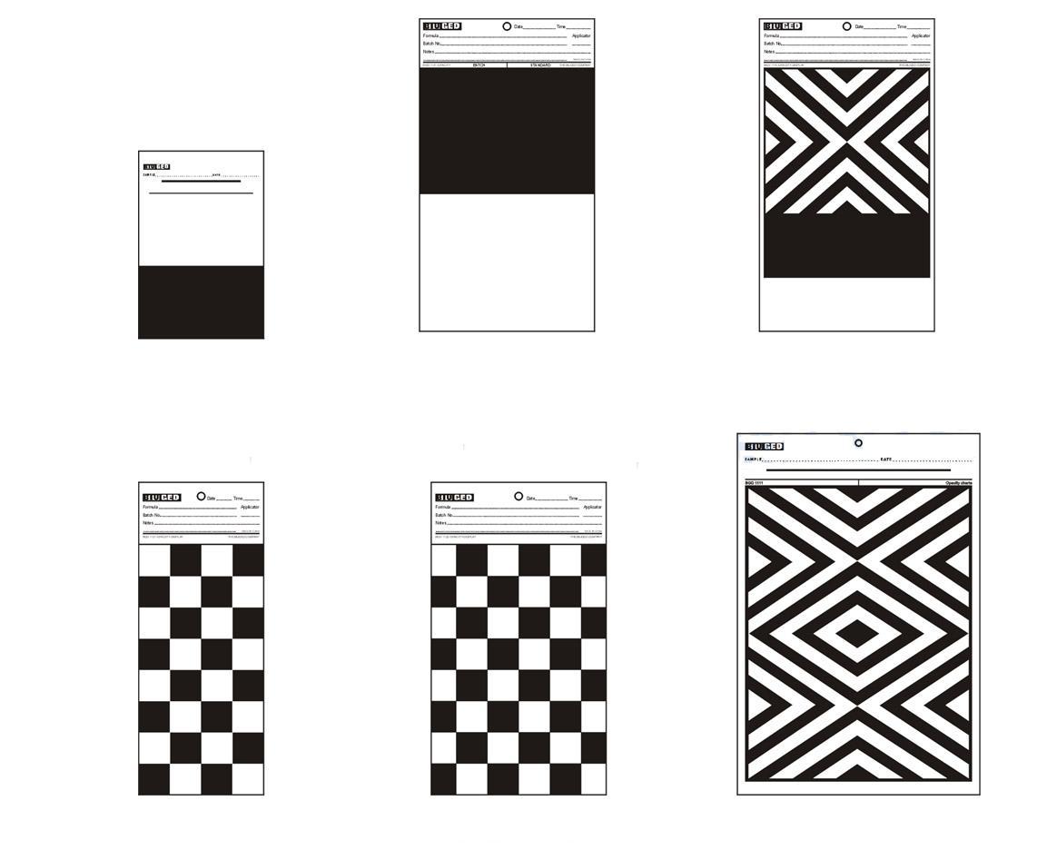 供应厦门中村建筑涂料遮盖力测试测试卡纸半黑半白测试纸