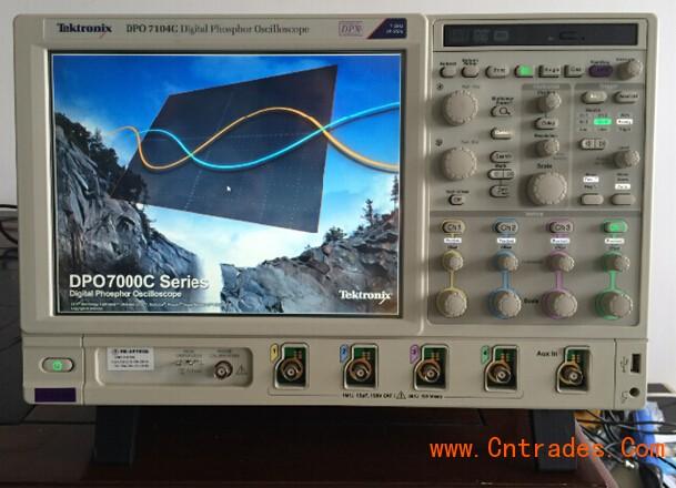 示波器示意�_示波器 出售二手泰克dpo7104c示波器