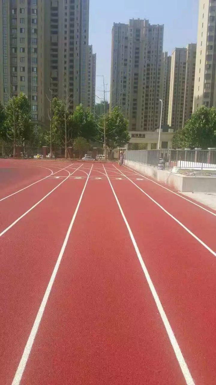 南京塑胶跑道施工铺设