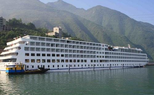 重慶長江三峽豪華游輪總統8號單程4日游 重慶三峽旅游 總統8號游輪