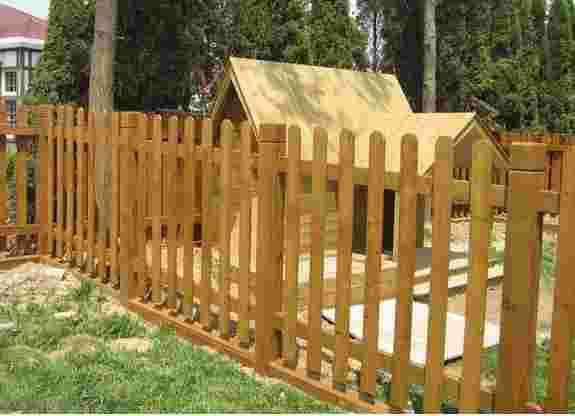 山东园林景观围栏 在哪里能买到口碑好的防腐木围栏