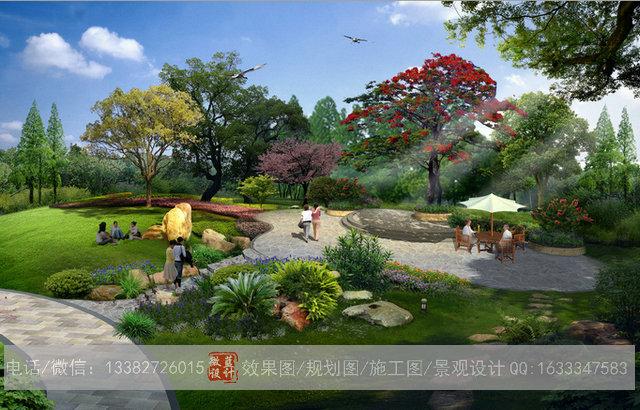 供应3d古典园林效果图设计,3d仿古园林效果图设计公司