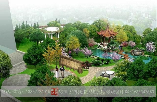 供应3d园林效果图设计,3d仿古园林效果图设计公司