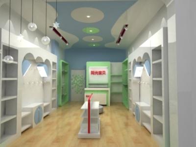 孕婴店装修|专业母婴生活馆装修公司|婴童用品店装修