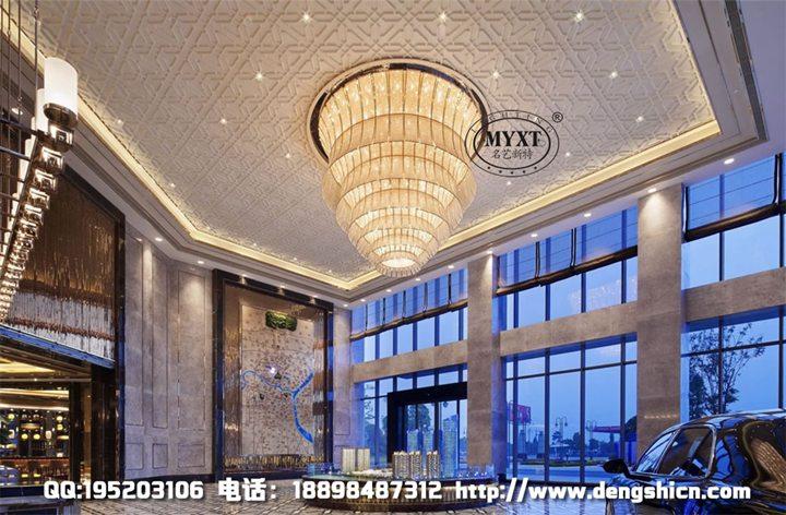 商业楼盘展厅工程灯具 沙盘工程灯 房地产展销中心灯具 灯具定