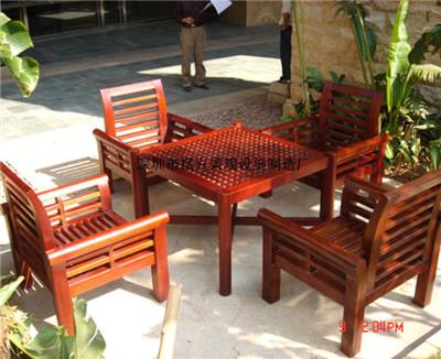 休闲桌椅|塑木桌椅|户外桌椅|铝合金桌椅定做厂家