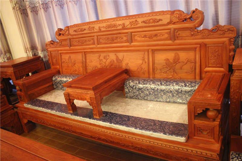 红木古典成套沙发明清中式东阳红木家具品牌价格