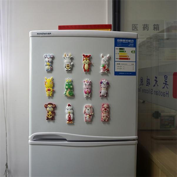 冰箱简笔画带颜色