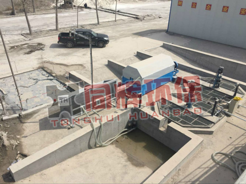 威海商砼污水处理设备 浆水回收设备  混凝土回收机    混凝土搅拌站