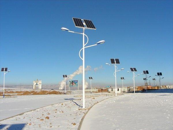 由于太阳能led路灯