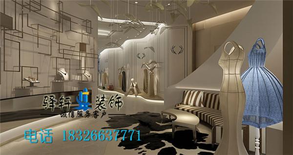 合肥精品女服装店装修 20平女服装店设计方案
