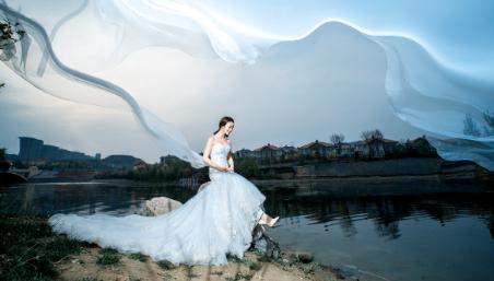 丰满欲妇床照_丰满新娘拍婚纱照的注意事项