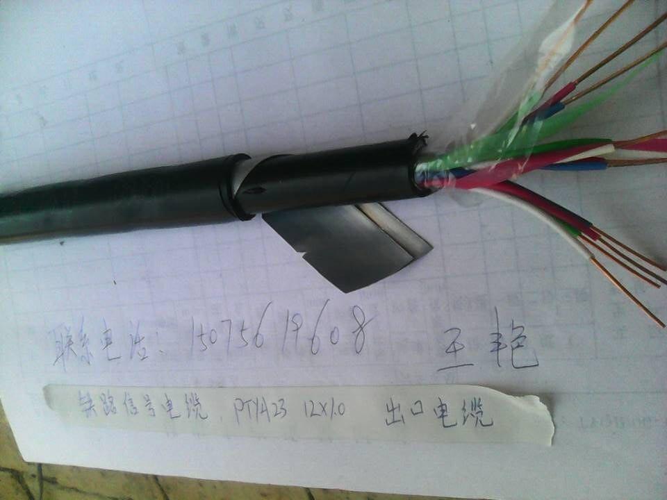 ptya 11x1铁路信号电缆结构