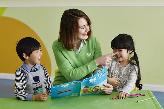 上海浦东少儿英语培训 母语外教 学英语更高效