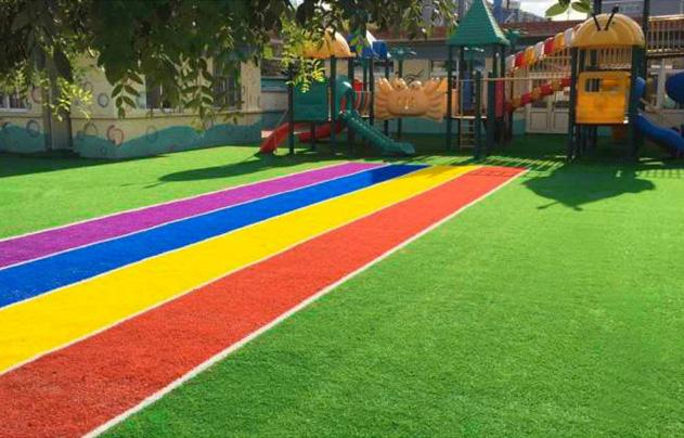 幼儿园草坪 人造草坪 学校足球场草坪