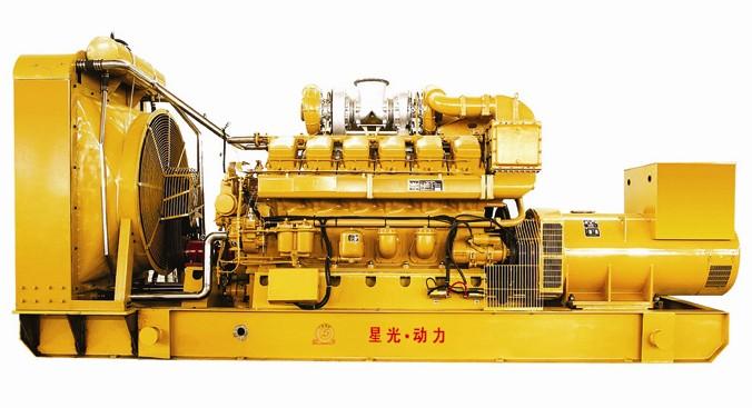 靜音發電機組 大型濟柴柴油發電機組
