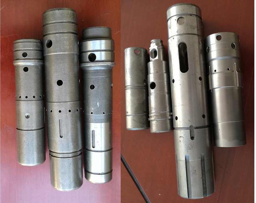 电镐气缸电锤气缸气孔电化学去毛刺设备