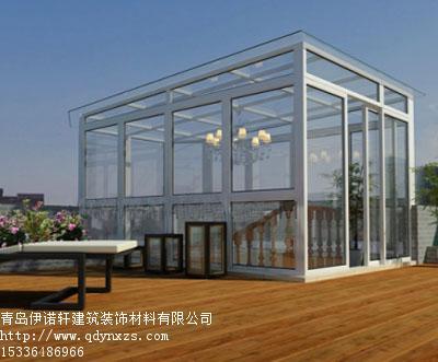 青岛钢结构雨棚/崂山区钢结构玻璃房/玻璃幕墙0532-589