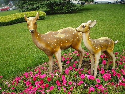 广东动物雕塑/广东鹿雕塑/东莞动物雕塑厂