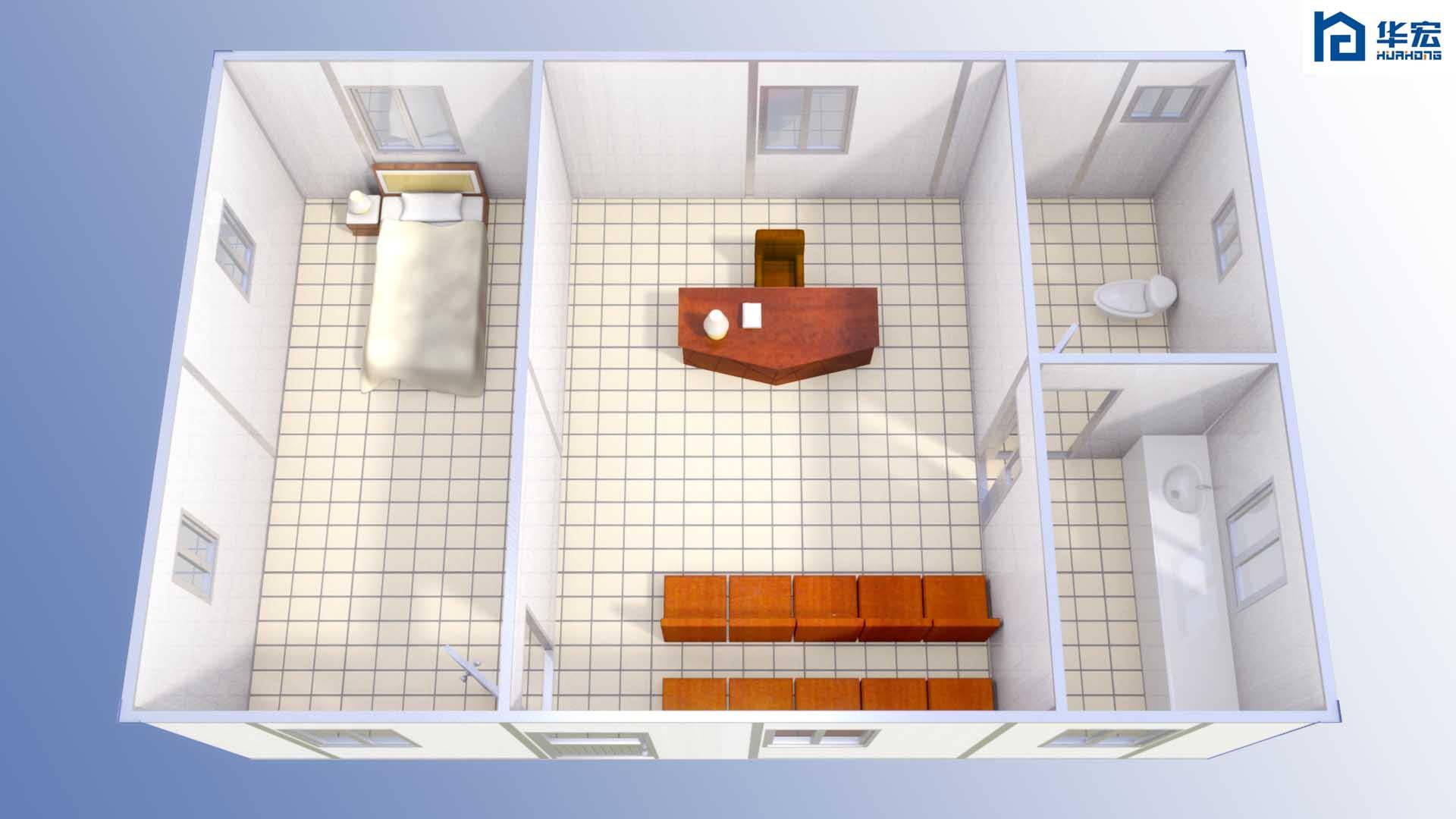 集成化房屋 新型镁质墙体板 复合墙体板 镁质复合墙体板