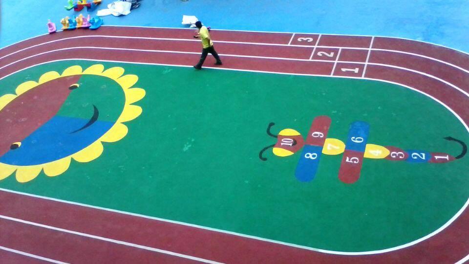 广西epdm塑胶跑道厂家|专业的幼儿园塑胶跑道推荐