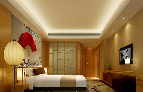涪陵快捷酒店装修注意事项 专业酒店装修装潢设计 重庆爱港装饰高清图片