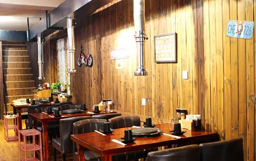 重庆烤肉店装修注意事项 餐厅装修设计效果图