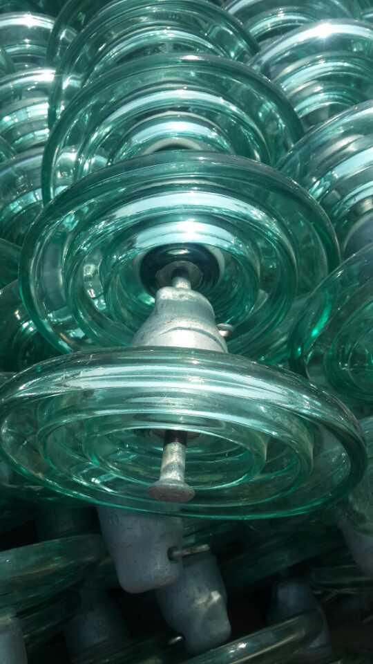 河北泰通电力器材有限公司生产的防污玻璃钢绝缘子lxhy5-100结构