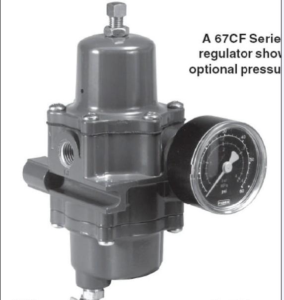 上海供应调压器67cfr-600空气过滤减压阀美国费希尔图片