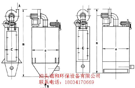 机械振打除尘器设备  脉冲布袋除尘器 当