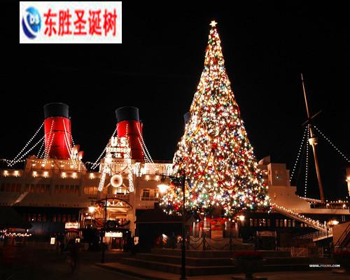 北京商场圣诞树 圣诞美陈设计 大型圣诞树