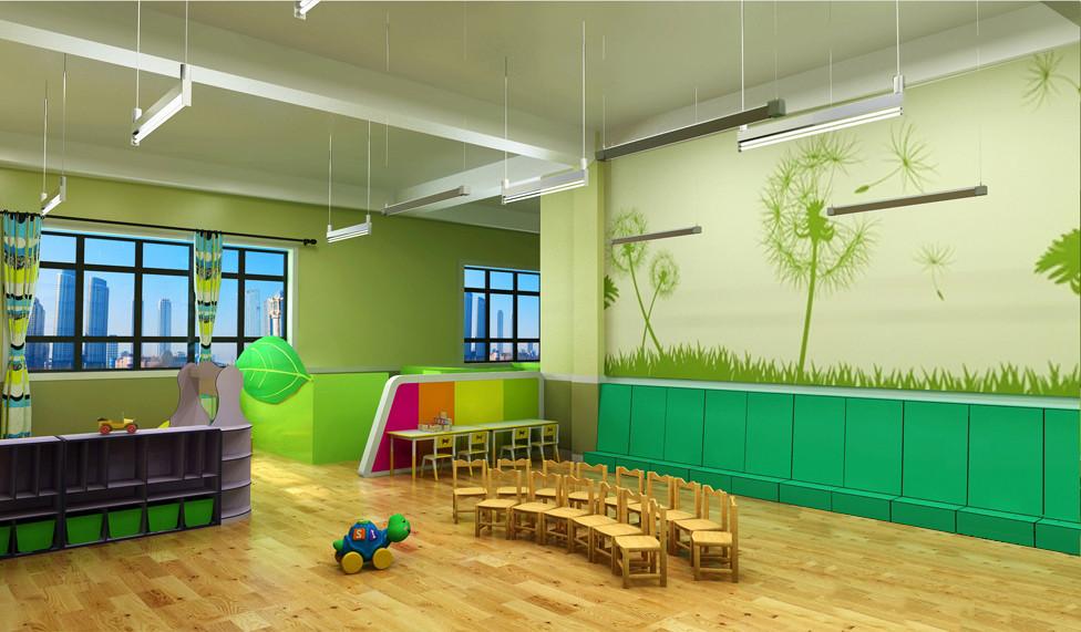幼儿园主题墙原始森林分享展示