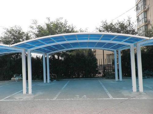 钢结构车棚建造找瑞联装饰工程,樟木头钢结构车棚厂家