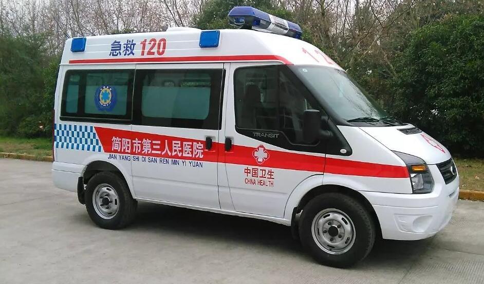 新时代v348全顺运输型救护车厂家直销