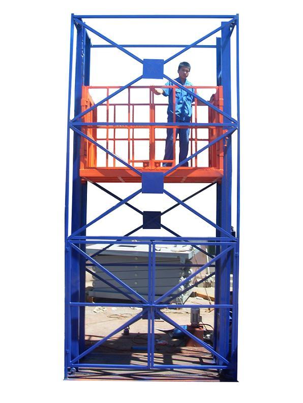 导轨式升降货梯哪家的好_导轨式升降机图片