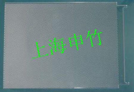 单面微结构阵列导光板一般采用射出成型的制作工艺.