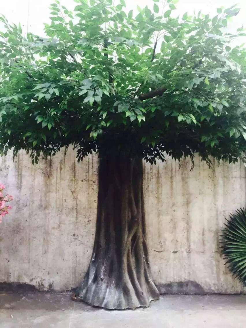 手工制作加工/仿真桃花树 人造花树大树 仿真植物 工艺品定做 仿真树